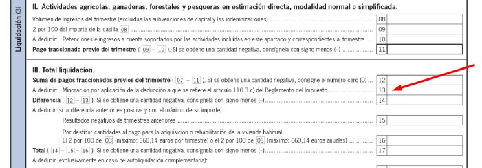 Casilla 13