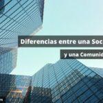 En qué se diferencia una Sociedad Civil de una Comunidad de Bienes